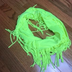 Justice girls fringe infinity scarf